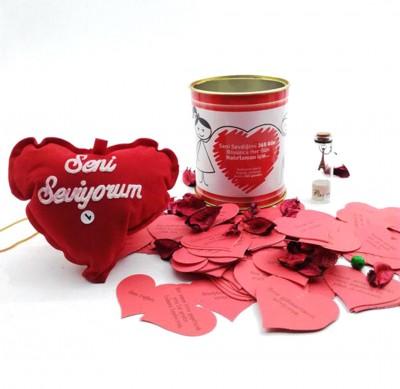 Diğer - Romantik Aşk Dolu Hediye Konservesi