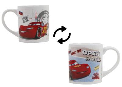 Diğer - Şimşek McQueen Cars Baskılı Porselen Kupa Bardak