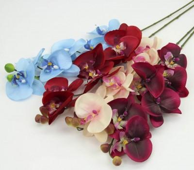 Diğer - Tek Dal Yapay Orkide Çiçeği Yavruağzı