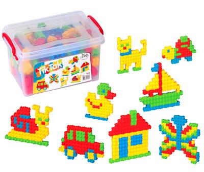 Diğer - Tek Yönlü Eğitici Mini Bloklar 250 Parça