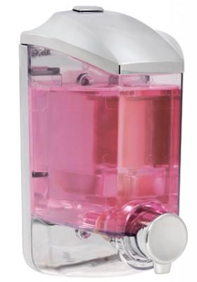 Titiz - Titiz Damla Sıvı Sabun ve Şampuan Makinesi Krom 1lt.