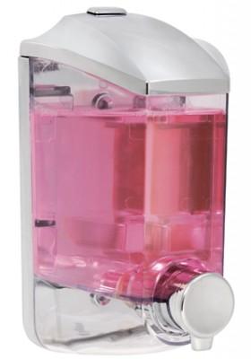 Titiz - Titiz Damla Sıvı Sabun ve Şampuan Makinesi Krom 400ml.