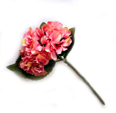 Diğer - Yapay Çiçek Tek Dal Ortanca 35cm Pembe