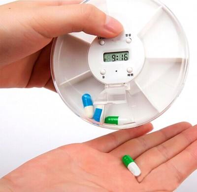 Diğer - Zaman Alarmlı Haftalık İlaç Kutusu
