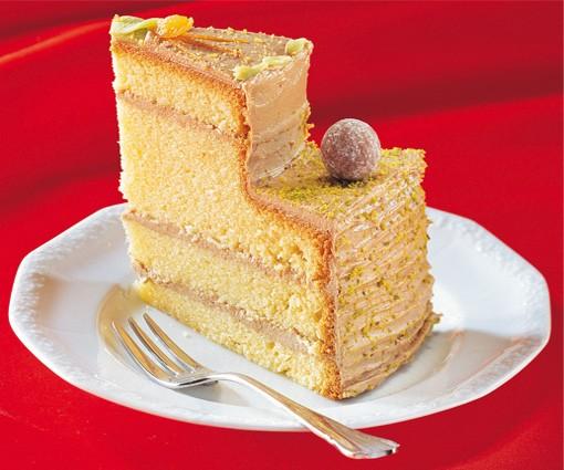 Zenker dolgu modelli 2 tabanlı kelepçeli kek kalıbı 26cm