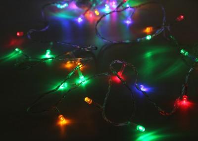 Diğer - 100 Ledli Karışık Renk 10mt Yılbaşı Ağacı Işığı