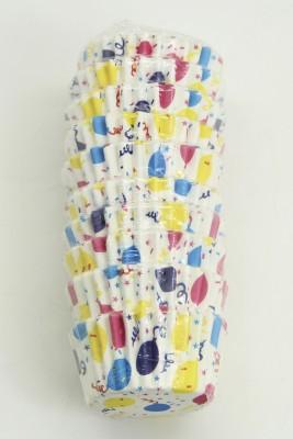 Diğer - 100lü Balon Desenli Yağlı Kağıttan Muffin Kalıbı Küçük Boy