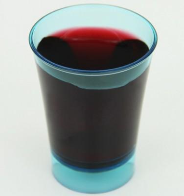 12li Mini Lohusa Parti Bardağı Şeffaf Renkler - Thumbnail