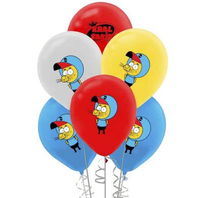 Diğer - 20li Karışık Kral Şakir Temalı Süsleme ve Parti Balonu