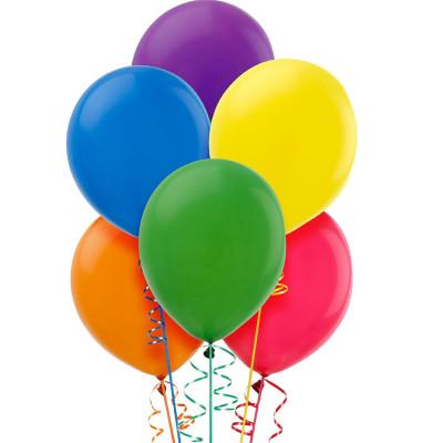 Diğer - 20li Karışık Renkli Süsleme ve Parti Balonu