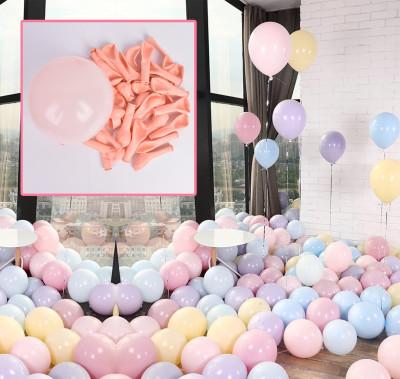 Diğer - 20li Makaron Soft Renk Parti Balonu Yavruağzı