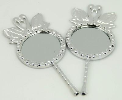 Diğer - 25li Hediyelik Mini Süs Aynası Gümüş