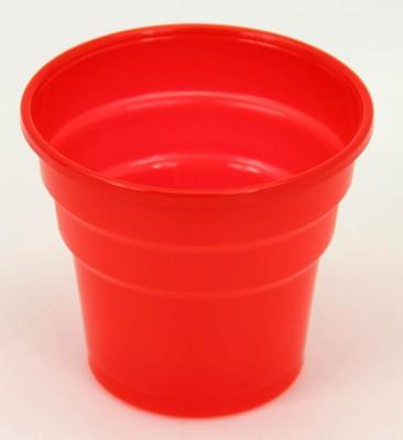 Diğer - 25li Tek Kullanımlık Piknik ve Parti Bardağı Kırmızı