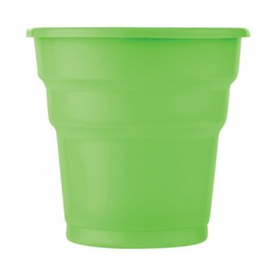 Diğer - 25li Tek Kullanımlık Piknik ve Parti Bardağı Yeşil