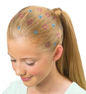 2li Işıltılı Saç Süsleme Damgaları Hot Stamps - Thumbnail