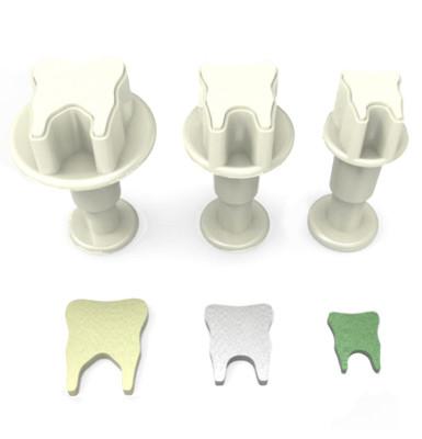 Diğer - 3lü Diş Şeker Hamuru Şekillendirici Enjektörlü Kopat