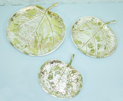 Diğer - 3lü Elma Biçiminde Dekoratif Süsler Sedef