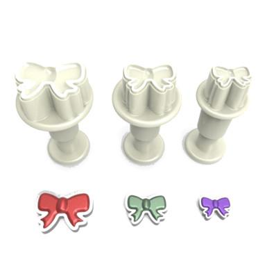 Diğer - 3lü Fiyonk Şeker Hamuru Şekillendirici Enjektörlü Kopat