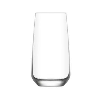 3lü Lav Lal Sade Meşrubat Bardağı