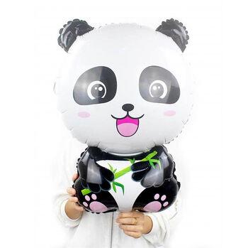 3lü Panda Temalı Dev Folyo Balon Seti