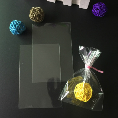 50li Şeffaf Cake Pops ve Kurabiye Poşeti 10x20cm - Thumbnail