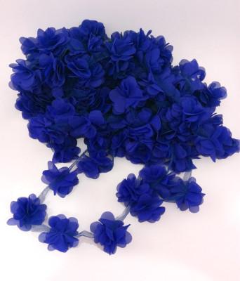 Diğer - 50li Şerit Tül Çiçek Süsleme Malzemesi Lacivert