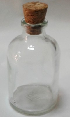 Diğer - 5li Bebek ve Nikah Şekeri Süsleme Malzemesi Mantarlı Penisilin Şişesi 50cc