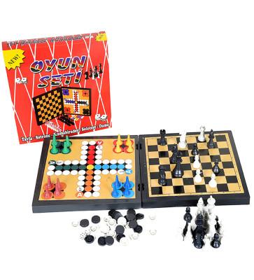 Diğer - 5li Eğitici Kutulu Oyun Seti