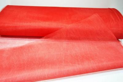 Diğer - 5mt Kına Kesesi Süsleme Malzemesi Kristal Tül Kırmızı