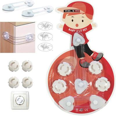 Diğer - 6 Parça Bebek Güvenlik Seti