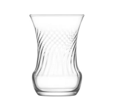Lav - 6lı Lav İnci Sade Çay Bardağı