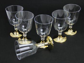 6lı Lohusa Şerbet Bardağı Gold