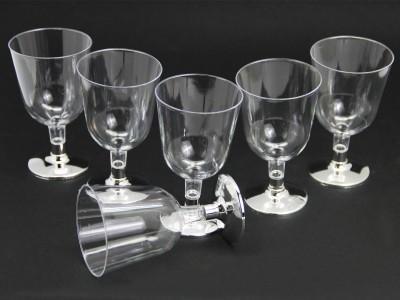 Diğer - 6lı Lohusa Şerbet Bardağı Gümüş