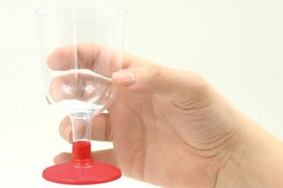 6lı Lohusa Şerbet Bardağı Kırmızı - Thumbnail