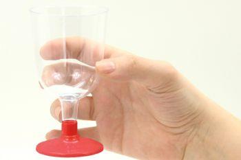 6lı Lohusa Şerbet Bardağı Kırmızı