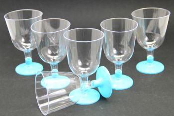6lı Lohusa Şerbet Bardağı Mavi