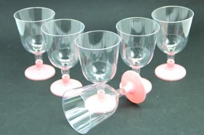 Diğer - 6lı Lohusa Şerbet Bardağı Pembe