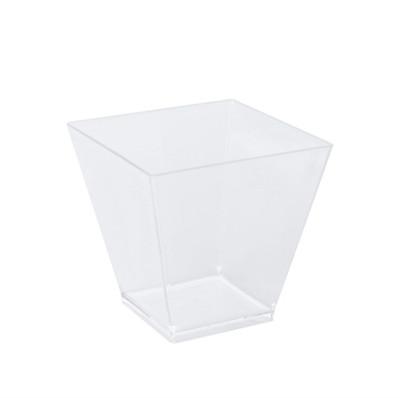 6lı Mini Plastik Kübik Kase 200cc - Thumbnail