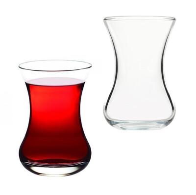 Paşabahçe - 6lı Paşabahçe Vefa İnce Belli Çay Bardağı