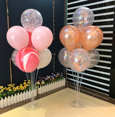 7li Stand Şeklinde Balon Çubukları - Thumbnail