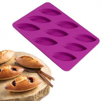 Joy Kitchen - 9lu Silikon Mekik Kek Kalıbı