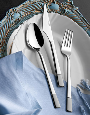 Diğer - Alya Saten 12li Tatlı Çatalı
