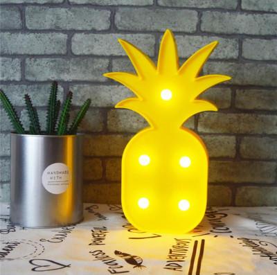 Diğer - Ananas Tasarımlı Dekoratif Pilli Led Lamba