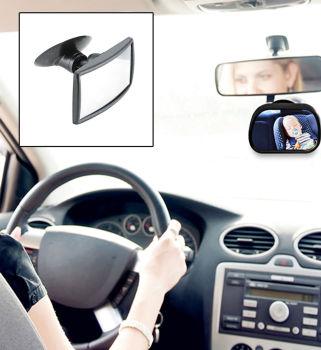 Araç İçi 360 Derece Dönebilen Bebek Dikiz Aynası