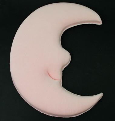 Diğer - Ay Dede Şeklinde Bebek Kapı Süsü Yapımı Malzemesi Pembe