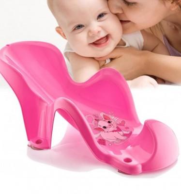 Diğer - Baby Bath Set Bebek Yıkama Aparatı Pembe