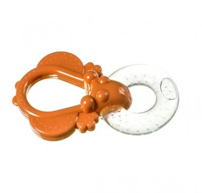 Baby Soft - Baby Soft Tutacaklı Sulu Diş Kaşıyıcı Turuncu