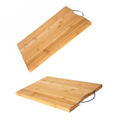 Diğer - Bamboo Kulplu Kesme ve Doğrama Tahtası 32x22cm