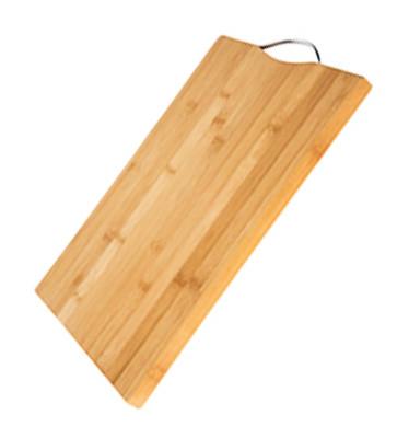 Bamboo Kulplu Kesme ve Doğrama Tahtası 32x22cm - Thumbnail