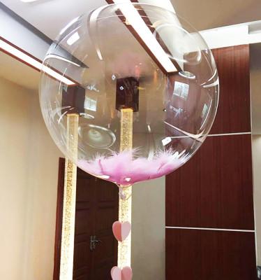 Diğer - Baskısız Şeffaf PVC Parti Balonu 15cm